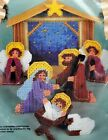Vintage Plastic Canvas Kit Bucilla Manger Scene Nativity Religious 61138 Craft