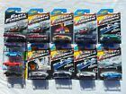 2014 Hot Wheels Fast and Furious Complete Set all 8 cars with 5 extras Lot of 13