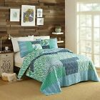 3pc King Native Springs Quilt Set Blue Justina Blakeney for Makers Collective