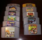 Huge Nintendo 64 Games Lot 100 Authentic Tested Working Rare 11 Total Games