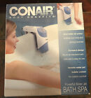 Conair Body Benefits DUAL Water Jet Action Bath Spa BTS1D NEW Open Box 2000