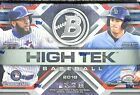 2018 BOWMAN HIGH TEK HOBBY BOX Ronald Acuna, Ohtani, Luis Robert Rookie 4 Auto