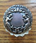 Art Nouveau Sterling Top Inkwell With Mermaids by Foster  Bailey