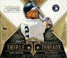 2017 TOPPS TRIPLE THREADS HOBBY BOX Aaron Judge Cody Bellinger Mike Trout, Auto
