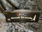 50 Count Box - New BCW Brand Small Stands Holder Displays Sport Cards