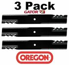 3 Pack Oregon 396 704 Mower Blade Gator G6 fits Dixie Chopper 30227 52T