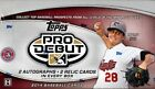 2014 TOPPS PRO DEBUT HOBBY BOX RC Auto Mookie Betts Carlos Correa Cory Seager