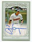 TONY GWYNN 2013 Topps Gypsy Queen Auto Autograph Signature On Card Padres HOF SP