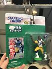 Starting Lineup 1996 NFL Isaac Bruce figurine and card
