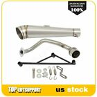 Motorcycle Stainless Steel Exhaust Muffler System For 125cc 150cc GY6 Scooters