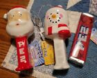 NEW Cracker Barrel THREE Exclusive Christmas PEZ Ornaments for 2020 - HTF