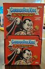 2018 Garbage Pail Kids Oh the Horror-Ible Rare Gravity Box Unopened