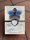 2013-14 National Treasures ANDRE DRUMMOND Auto Patch # 49 Pistons Autograph Mint