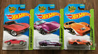 Hot Wheels 2013 69 CORVETTES Lot Of 3