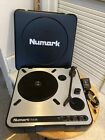 Numark PT01USB PT 01 USB Portable Vinyl Turntable Power Cable Tested Working