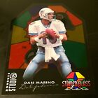 1997 Studio 15 Dan Marino Stained Glass Stars 8x10 814 1000 Dolphins HOF