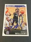 Derrick Williams Signs with Panini 8