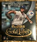 2016 Topps Gold Label Baseball Hobby Box **Free Priority Shipping**