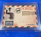 2010 Panini Century Collection Pete Rose 250 Bat Relic 2 Air Mail