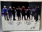Mighty Ducks Autographed by 5 cast members Movie Cast Signed 11x14 Photo JSA COA