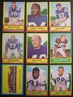 1963 Topps Football Cards 8