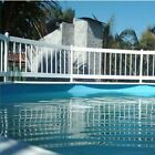 Above Ground Swimming Pool Resin Safety White Color Fence Various Kits