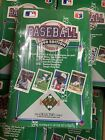 1990 Upper Deck Baseball Factory Sealed Wax Box 36 Pack From Case