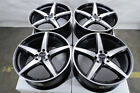 15 Wheels Ford Escort Honda Civic Mini Cooper Toyota Corolla Black Rims 4 Lugs