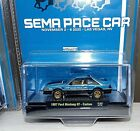 M2 2020 SEMA Exclusive CHASE 1987 Ford Mustang GT Custom Pace Car FOX 300