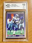 1990 Score Supplemental #101T Emmitt Smith RC Rookie BGS Beckett BCCG 10