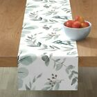 Table Runner Eucalyptus Native Australian Natives Botanical Nature Cotton Sateen