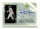TONY GWYNN 2001 UD Upper Deck Ultimate Collection Signatures Silver Auto 23 24