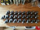 25 1 Threaded Black Malleable Iron 90 Degree Elbow Fittings LOT OF 25 NOS