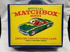 MATCHBOX OFFICIAL SERIES DELUXE 72 CAR COLLECTORS CASE 1968 NICE CONDITION