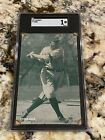 TY COBB 1927 EXHIBITS SGC 1 NEW LABEL LOW POP RARE CARD OF THE HOF GREAT INVEST