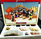 Lemax NATIVITY SCENE Village Collection Set of 14 Table Accents 33410 Christmas