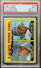 1967 Topps #569 Rod Carew PSA 7 DNA 10 (early auto) ultra-low pop 7 (2 higher)