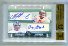 ROGER STAUBACH TROY AIKMAN 2007 Topps Co-Signers Dual Auto SP BGS 9.5 10 POP 1 1