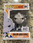Funko Pop Dragon Ball Z Evil Majin Buu Metallic Funimation Exclusive In Hand
