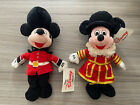 1990s Mickey Mouse Palace Guard Beefeater Soft Toy Bean Bag Beanie Disney Store