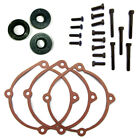 Puch Maxi Moped E50 Clutch Cover Gasket 3 PACK Plus Oil Seals and Bolts NEW