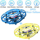 UDIRC Flying Ball Drone for Kids Hand Operated Mini Drone Toy with Fan Mode 2PCS