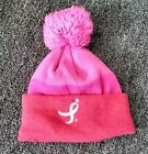 IN PINK Breast cancer awareness pink beanie