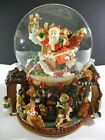 Kirkland Musical Waterglobe with Revolving Base Music Christmas Snowglobe 109619