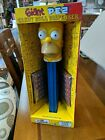 2002 Giant Pez Talking Homer Simpson Candy Dispenser 12