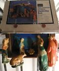 Sears nativity set hand painted Christmas Made in Japan Vintage 60s 70s