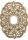 Anna Griffin Dies Fanciful Concentric OVAL Frame Cut  Emboss Metal 4pc Set