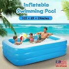 103 Children Adult Inflatable Pools Family Swimming Pool Home Outdoor Indoor
