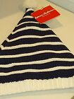 Hanna Andersson Striped Cotton Beanie Hat Youth Small