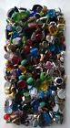 Jewelry Glass Bead Lot over 4lb Pounds Mixed Assorted Soup Mix Larger shapes